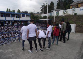 """Estudiantes presentan la obra """"La lucha es de todes"""""""