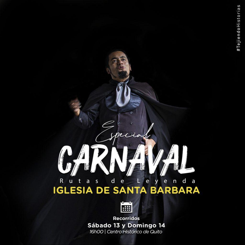 Ruta especial carnaval 2021